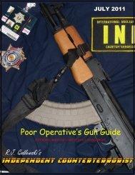 Poor Operative's Gun Guide R.J Godlewski's