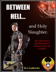 Between Hell and Holy Slaughter - R.J. Godlewski