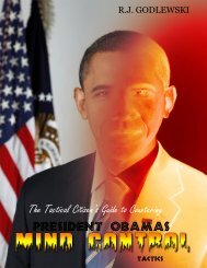 The Tactical Citizen's Guide to Countering President Obama's