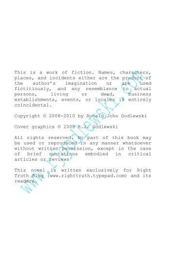 PATIENT EVIL -- CHAPTER SIXTY-EIGHT - R.J. Godlewski