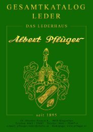 Leather - Albert Pflüger