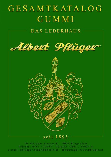 Rubber - Albert Pflüger