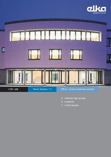 LON / e2i Room Solution 1.3 6 switched light - ELKA-Elektronik GmbH