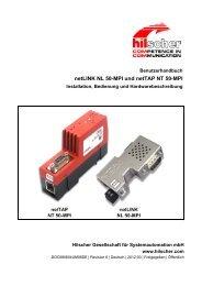 netLINK NL 50-MPI und netTAP NT 50-MPI - Hilscher