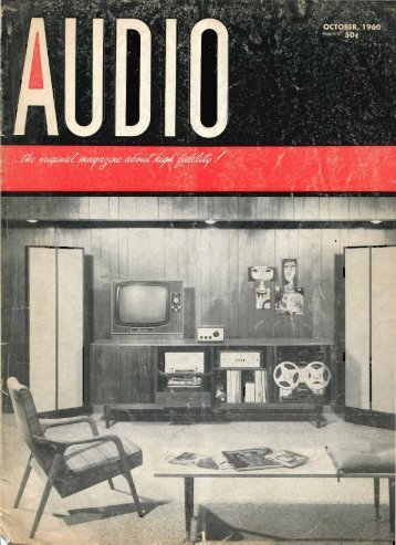 Audio Magazine October 1960 - Vintage Vacuum Audio