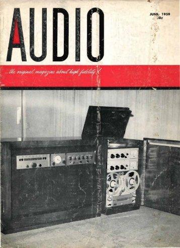 Audio magazine June 1959 - Vintage Vacuum Audio