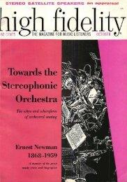 High Fidelity magazine October 1959 - Vintage Vacuum Audio