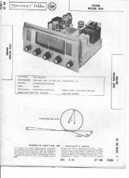Fisher 500 Service Manual - Vintage Vacuum Audio