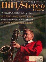 HiFi/Stereo Review May 1961 - Vintage Vacuum Audio