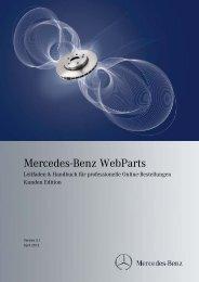 Mercedes-Benz WebParts