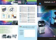 High Quality & High Speed Specifications Universal Design
