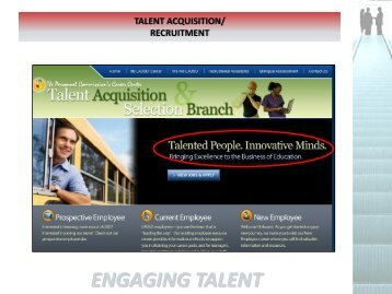 ENGAGING TALENT