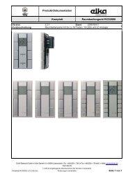 131054xx_RCD2000_TD_DE.pdf - ELKA-Elektronik GmbH
