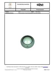 13101000_PIR_K_360_5ULL_TD_DE.pdf - ELKA-Elektronik GmbH