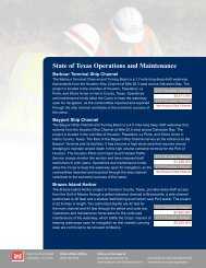 State of Texas Operations and Maintenance