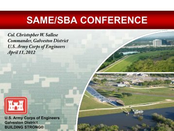 SAME/SBA CONFERENCE