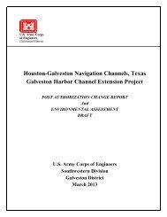 Galveston Harbor Channel Extension Project