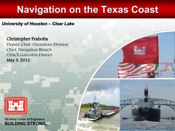 Navigation on the Texas Coast