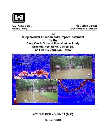 Appendices Vol. I, Part 1 Appendix A (Public ... - Galveston District