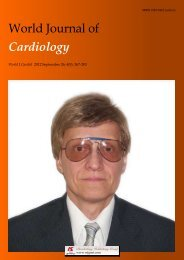 Acknowledgments to reviewers of World Journal of Cardiology
