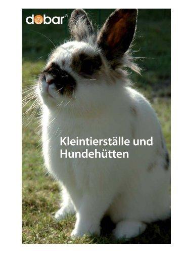 Kleintierställe und Hundehütten - DOBAR Trading GmbH