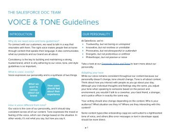 warwick tone of voice guidelines