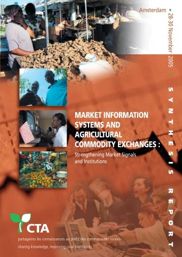 Market Information Systems and Agricultural Commodity ... - Anancy