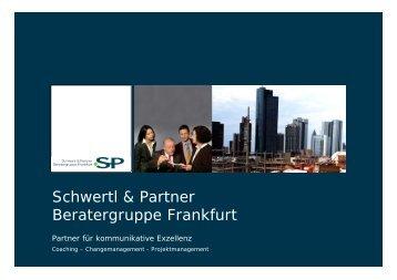 SP. Coaching - Schwertl & Partner Beratergruppe Frankfurt