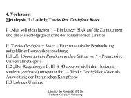 Vorlesung 4 - apl. Prof. Dr. Gerhard Kaiser