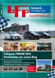 Fuhrpark-FORUM 2010: Bestmarken am neuen Ring - fuhrpark.de