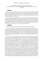 Topic 13: Emerging Market Economies - World Intellectual Property ...