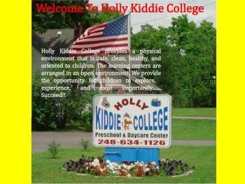 Holly Kidde College