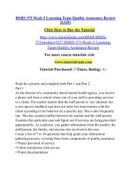 BSHS 375 Week 5 Learning Team Quality Assurance Review (UOP).pdf
