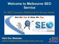 SEO Services Melbourne   SEO Consultant Melbourne   SEO Company Melbourne