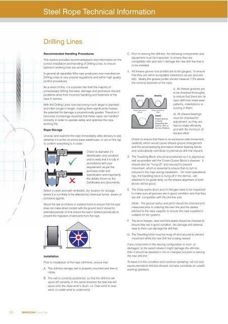 Steel Rope Technical Information - Bridon