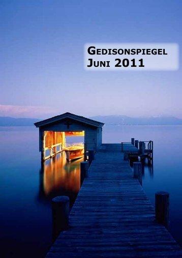 GEDISONSPIEGEL JUNI 2011 - Jugend Lage