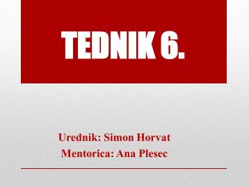 TEDNIK 6