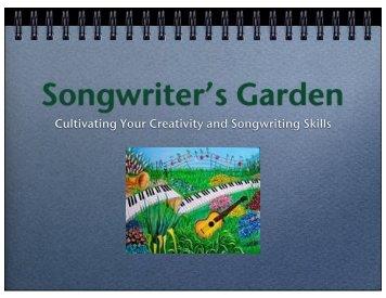 Songwriter's Garden