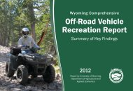 Off-Road Vehicle Recreation Report