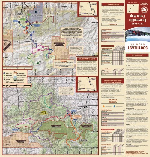 Snowy Range Wyoming Map.Snowy Range This Trail Sy