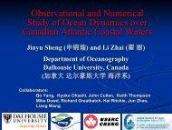 Jinyu Sheng - High-performance Computing & Environmental Fluid ...
