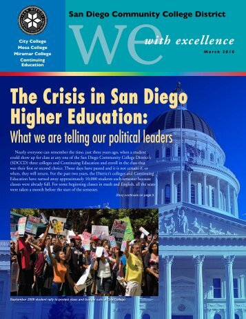 The Crisis in San Diego Higher Education