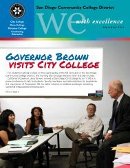 Governor Brown visits City College
