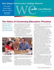 The Value of Continuing Education Priceless