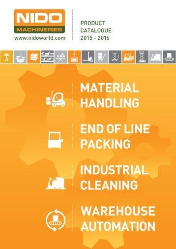 Nido Machineries Pvt Ltd - Product Catalog 2015-16