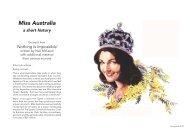 Miss Australia - Cerebral Palsy Alliance