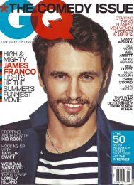 GQ June 2013 - The Tie Bar