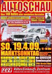 Flyer REZ Autoschau 2009 - gesamt (*. PDF - 3,6