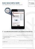 Proseo-Consulting Advertorials mit Echtzeit-Personalisierung - Seite 7