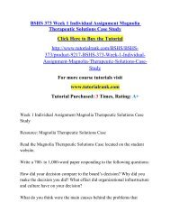 BSHS 373 Week 1 Individual Assignment Magnolia Therapeutic Solutions Case Study.pdf